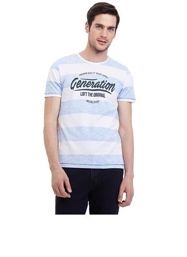Loft Loft Mavi  T-Shirt Mavi